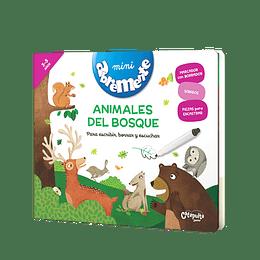 Abremente Animales Del Bosque Para Escribir, Borrar Y Escuchar