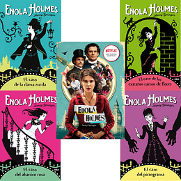 Pack Enola Holmes Rba (5 Libros)