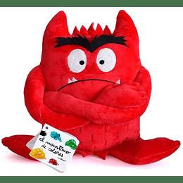Peluche Rojo Monstruo De Color