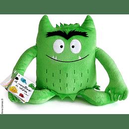 Peluche Verde Monstruo De Color