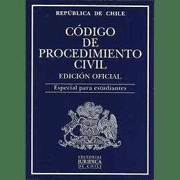 Codigo De Procedimiento Civil. Edicion Oficial 2021. Especial Para Estudiantes