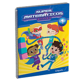 Super Matematicos 1. Caligrafix