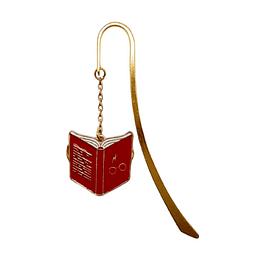 Marcapagina Baston Harry Potter - Libro Rojo Abierto