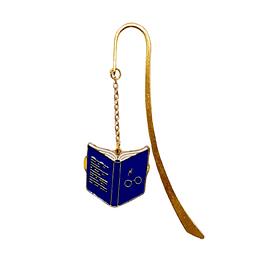 Marcapagina Baston Harry Potter - Libro Azul Abierto