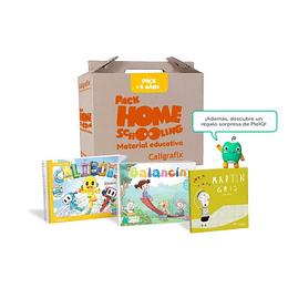 Pack Homeschooling 3 Años (Nivel Medio Mayor) Caligrafix