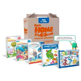 Pack Homeschooling 4 Años Caligrafix