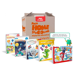 Pack Homeschooling 5 Años Caligrafix