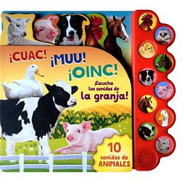 10 Sonidos De La Granja ¡Cuac! ¡Muu! ¡Oinc!
