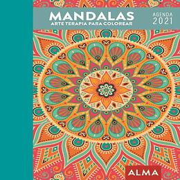 Agenda Mandalas Colorear 2021
