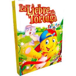 Fabu-Pop 3D La Liebre Y La Tortuga