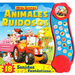 Animales Ruidosos. Libro Con Sonido Td