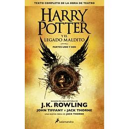 Harry Potter Y Legado Maldito