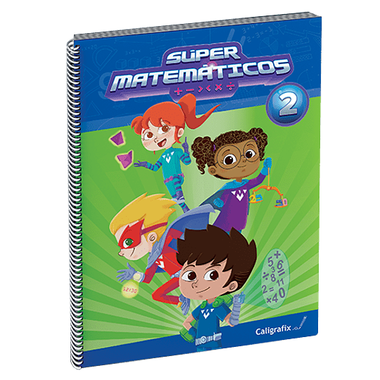 Super Matematicos 2. Caligrafix Sm2