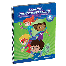 Super Matematicos 2 Caligrafix