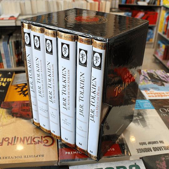 Estuche Tolkien 6 Libros + Mapa