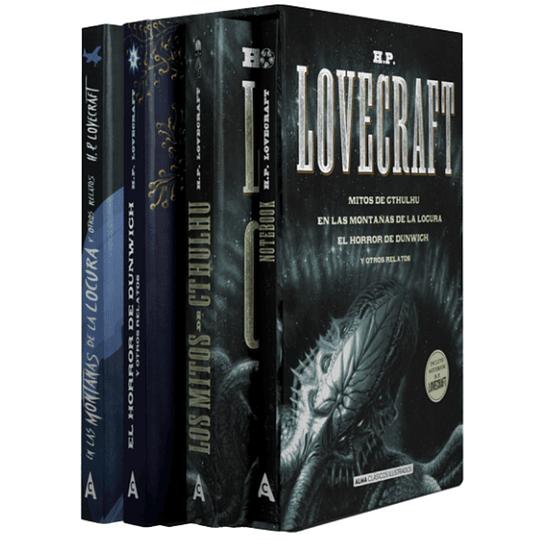 Estuche H.P. Lovecraft