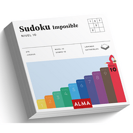 Sudoku Imposible Nivel 10