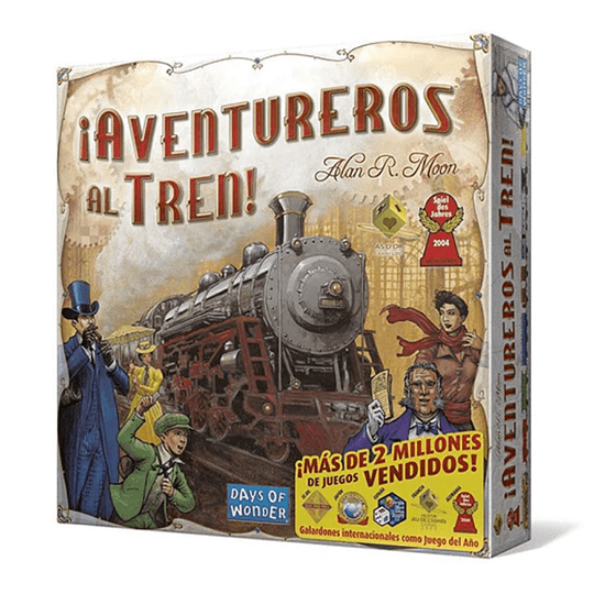 Aventureros Al Tren