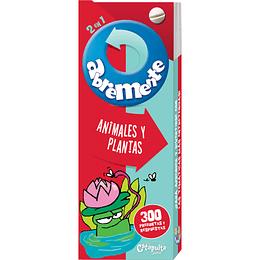 Abremente 2 en 1  Animales y Plantas