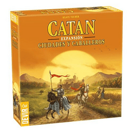 Catan Expansion Ciudades Y Caballeros
