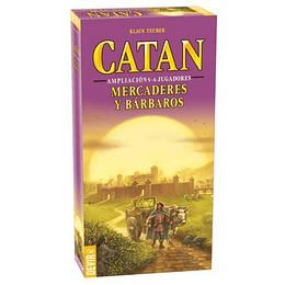 Catan Ampliación Mercaderes y Bárbaros 5 - 6 Jugadores