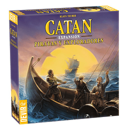 Catan Expansion Piratas Y Exploradores