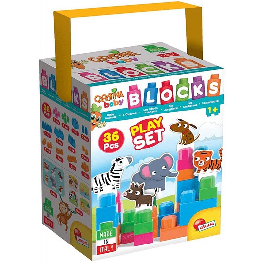 Blocks Play Set Cachorros