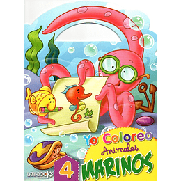 Yo Coloreo Animales Marinos