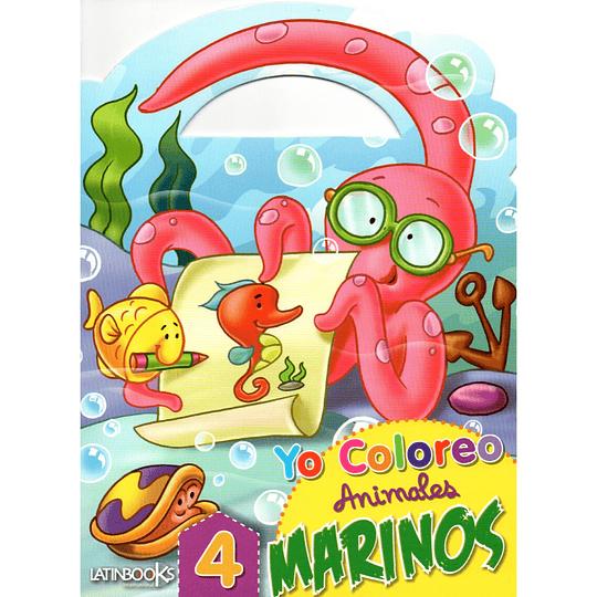 Yo Coloreo Animales Marinos