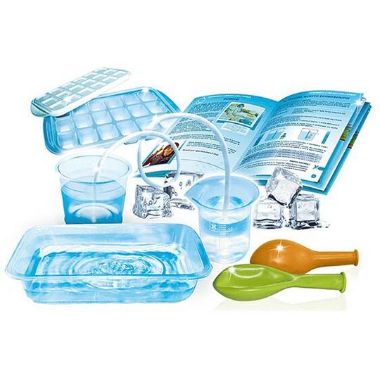 20 Experimentos de Agua y Hielo