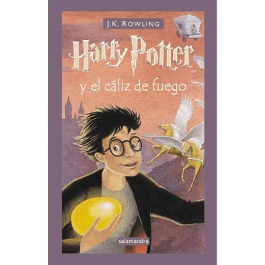 Harry Potter 4 (Td), Harry Potter Y El Caliz De Fuego