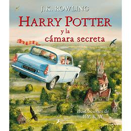 Harry Potter 2 Y La Camara Secreta Ilustrado