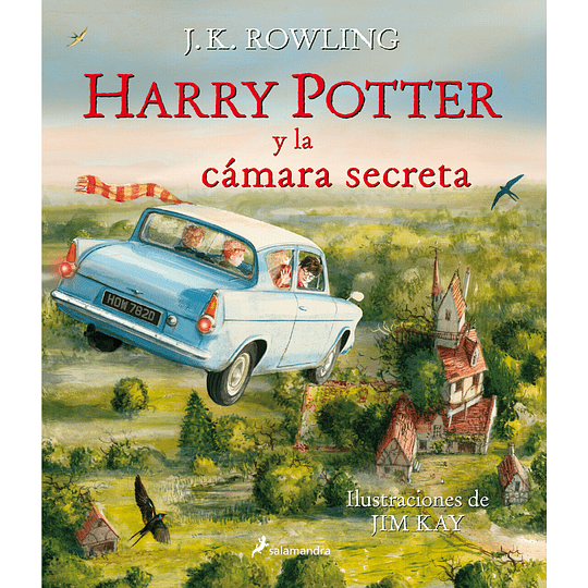 Harry Potter 2 Y La Camara Secreta Ilustrado