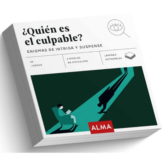 ¿Quien Es El Culpable? Enigmas De Intriga Y Suspense