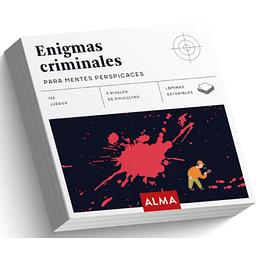 Enigmas Criminales Para Mentes Perspicases