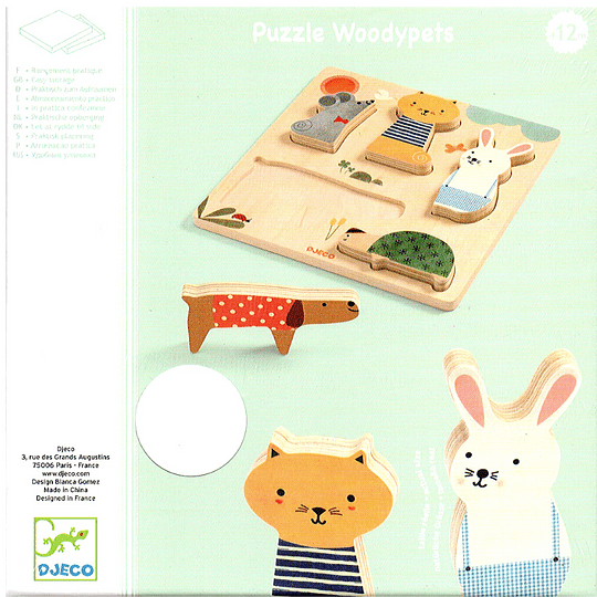 Puzzle de Madera Woodypets