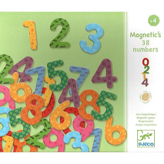 Juego Madera Magnético 38 Números