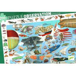 Puzzle Observation Club Aereo 200 Pcs Dj07451