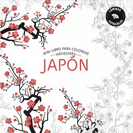 Mini Libro Para Colorear Antiestres Japon