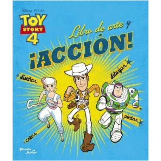 Toy Story 4. Libro de arte y acción