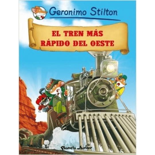 El tren más rápido del oeste. Comic #13