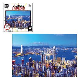 Puzzle Ciudades 1000 Pcs Hong Kong