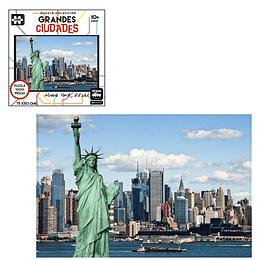 Puzzle Ciudades 1000 Pcs Nueva York