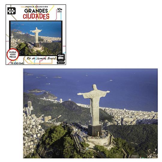Puzzle Ciudades 1000 Pcs Rio