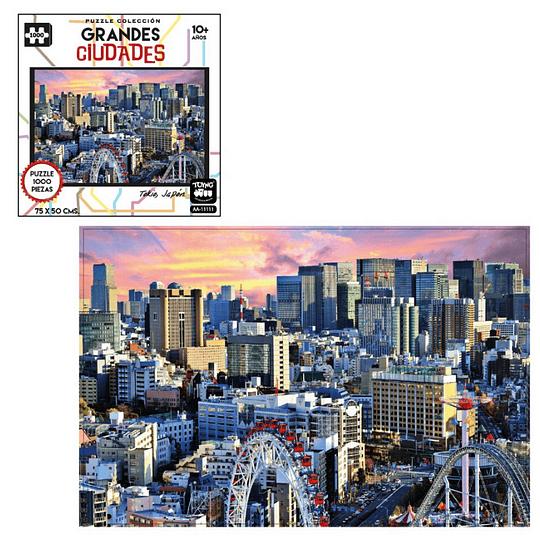 Puzzle Ciudades 1000 Pcs Tokio