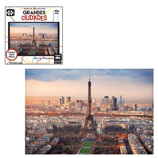 Puzzle Ciudades 1000 Pcs Paris
