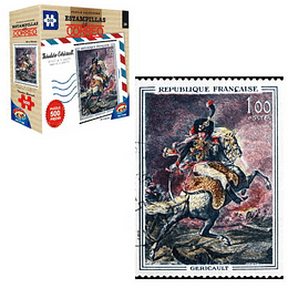 Puzzle Estamp 500 Pcs Oficial De Guardia