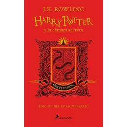 Harry Potter Y La Camara Secreta Gryffindor Rojo Td