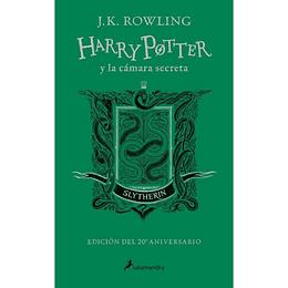 Harry Potter Y La Camara Secreta Slytherin Verde Td