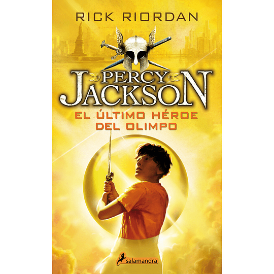 Percy Jackson 5. El Ultimo Heroe Del Olimpo